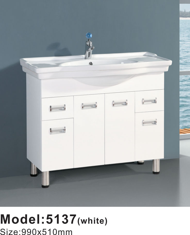 Fashion European pvc barthroom cabinet bathroom cabinets direct from china ready made bathroom cabinet