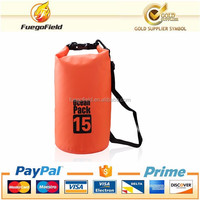 Custom Logo Ocean Pack Dry Bag, PVC Waterproof Plastic Dry Bag Backpack