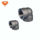 High Pressure Carbon Steel pipe fittings cl3000 forged a105 90 elbow