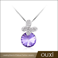 OUXI High End Jewelry 925 Sterling Silver Gemstone Pendants