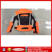 KCM2013 KTM motorcycle jacket Racing oxford jacket motorbike jacket with protective gear size M to XXXL