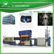 hdpe double wall corrugated pipe price / flexible corrugated pvc conduit / corrugated pipe machine