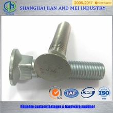 galvanized u black carriage bolt