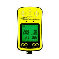 Portable Multi Gas Detector 4 in 1 Gas Monitor With Micro Clip