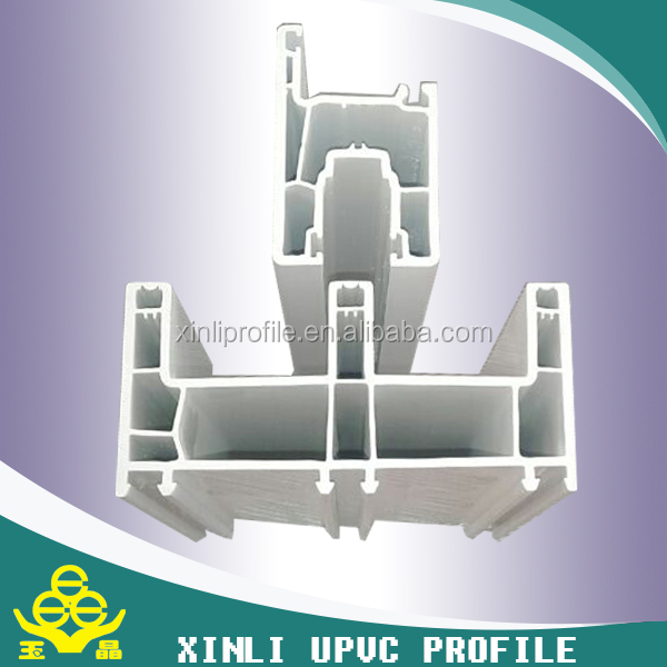 Plastic extrusion Profiles Type upvc extrusion profile /pvc profile for windows and doors/plastic pvc frame