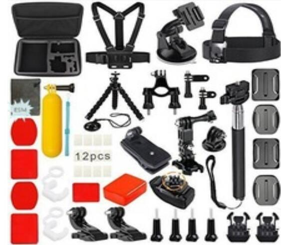 2017 Hot Selling Go pro accessories Set Combo Kit for Gopros Heros Camera accessories heros 5 6
