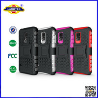 Impact 2 in 1 Armor KickStand TPU&PC cell phones Combo case covers for Samsung Galaxy S5 mini---Laudtec