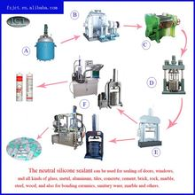 production equipment acetic silicone sealant equipment making machine
