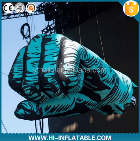 Hot sale Lifelike Giant Inflatable Hands model/inflatable hand replica