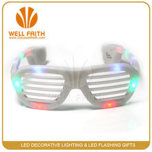 Hot selling products Flashing Party Rave Sunglasses ,Crazy Party Event and Concert Sunglasses