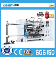 Automatic Plastic Film High Speed Slitting Machine