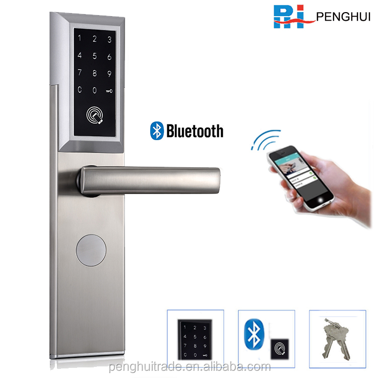 Home Apartment electronic digital password smart bluetooth door lock