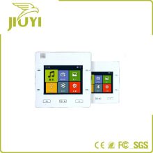 Exquisite Home Intelligent Touch Screen Background Music System With Remote Control