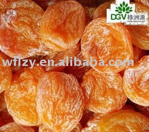 Yellow dried apricot