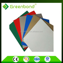 Greenbond cheap insulated aluminum roof panels with high light materials