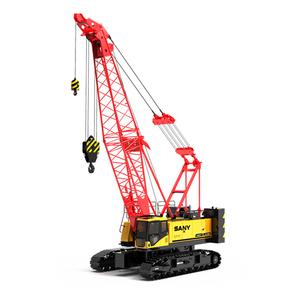 SANY 55ton crawler crane SCC550E lattice boom crane for sale
