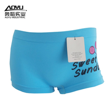 Wholesale Women Sweet Young Girl Cotton Panties Boy Shorts