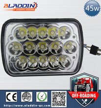 Factory price car led Driving light 45W 10-30V DC led offroad light for heavy duty,auto parts,trucks with CE and IP67