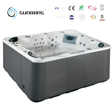 Sunrans high-quality new design hot tub square spa for 6 people