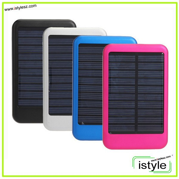 5000mah portable solar mobile phone charger, solar charger for Iphone6