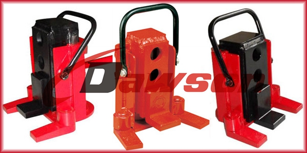Dawson heavy duty low profile lifting mechanical toe jack for sale