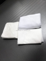 Bleached raw white mixed rags or wiping clothing
