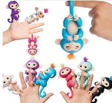 China Factory OEM cheap hot fingertip monkey toy Interactive Baby finger Monkeys Toy Smart Colorful Christmas Gift Toy