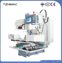 Vertical Knee type Cheap CNC Milling Machine / machining center frame for metal processing