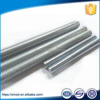 Galvanised Full Low Carbon Steel Zinc Plated Threaded Rod