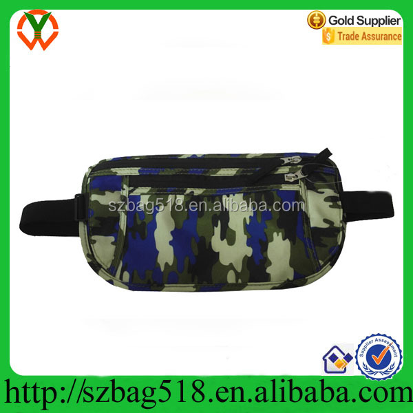 Sports military waist bag pack running belt bag