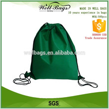 promotion custom drawstring bag non woven , gym bag drawstring
