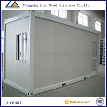 Chinese cheap living 20ft container house