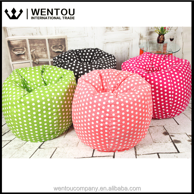 Comfort Research Beansack Polka-Dot Bean Bag Chairs
