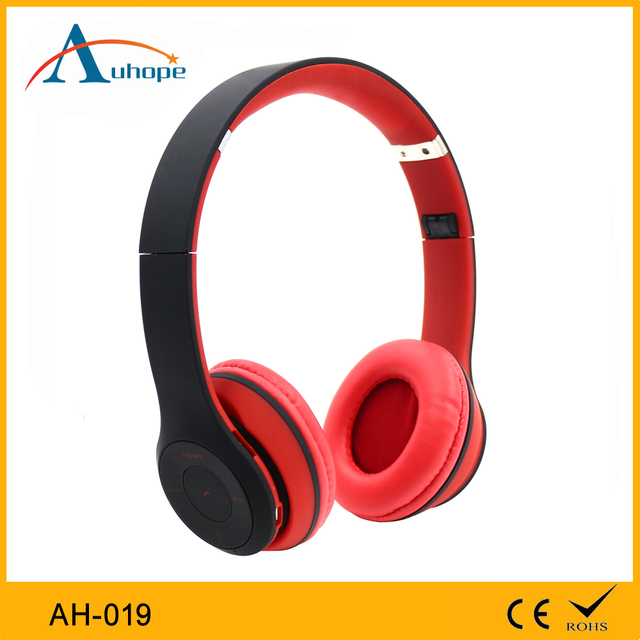 Wholesale comfortable communication stereo stylish LED headband headphone with TF card