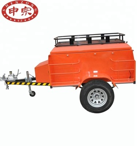 Outside off road folding luggage trailers small camper for cars