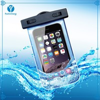 shenzhen high quality PVC water proof bag for mobile phone