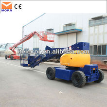Self-propelled small boom lifts
