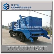 China new condition armroll garbage truck for sale,garbage truck dimensions, garbage can cleaning truck