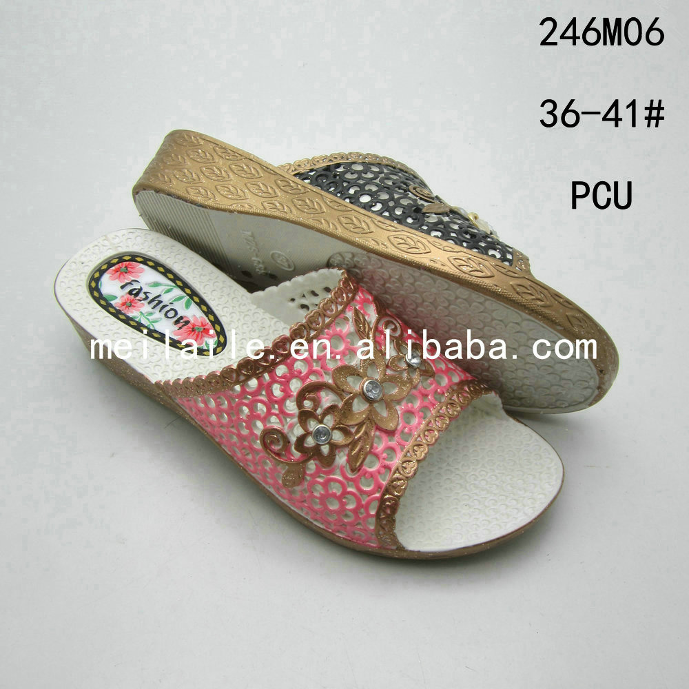 new design women pcu shoes china pcu shoes cheap china slippers