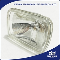 long life hours 7inch square 6052 sealed beam head light with crystal type