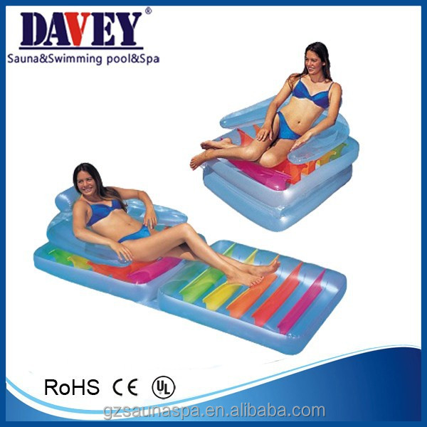 Foldable fashion swimming pool floating chair