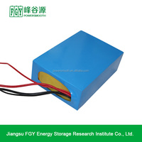 24V 26Ah lithium battery pack use for UPS, electronic fishing,LED lighting