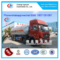DongFeng gas tanker truck trailers for sale
