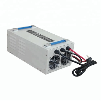 60V 50A portable car battery charger with digital display