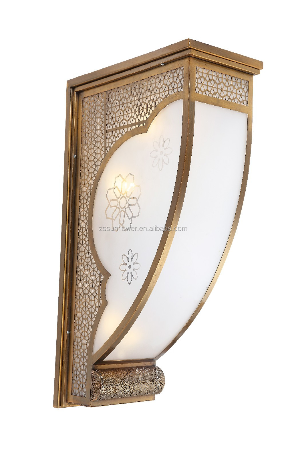 New products antique arabian wall lighting for hotel project