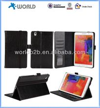 book style stand leather case for samsung galaxy tab pro 8.4, Magnetic sleep/wake up