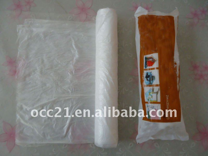 disposable dust protective film and drop sheet buy disposable plastic drop clothpaint and dust film for product on alibaba