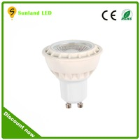 High Lumen 220V GU10MR16 LED Spotlights , GU10 AC85-265V long range spotlight lamp outdoor