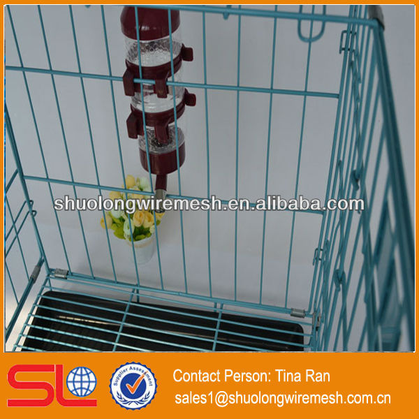 Have Stock factory Folding metal cages for dog kennels(BV Certificate Company and Factory)