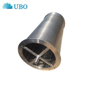 Wedge wrapped wire Johnson slotted screen mesh pipe used in waste water treatment